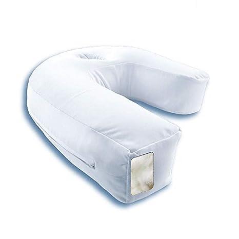 Amazon.com: MKYUHP - Almohada en forma de U para dormir de ...