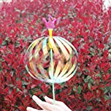 Wand Toy, Creative Colorful Sparkling Spindle Wand Light Up Spinner Toy for Wedding Party, Color Random