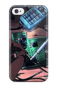 Premium Protection Zankyou No Terror Characters Case Cover For Iphone 4/4s Retail Packaging