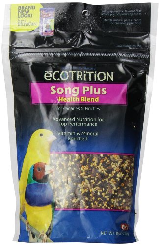 eCOTRITION Song Plus Food for Canary/Finch, - Color Canary Food