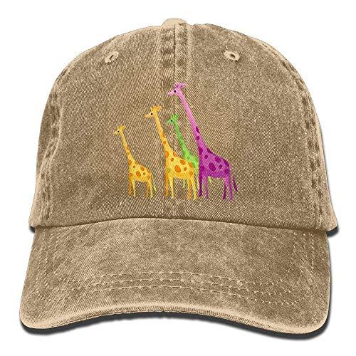 Cowboy Men Denim Sport for Hats Cap Hat Women Giraffe Skull DEFFWB Cowgirl Color UwB4qfO