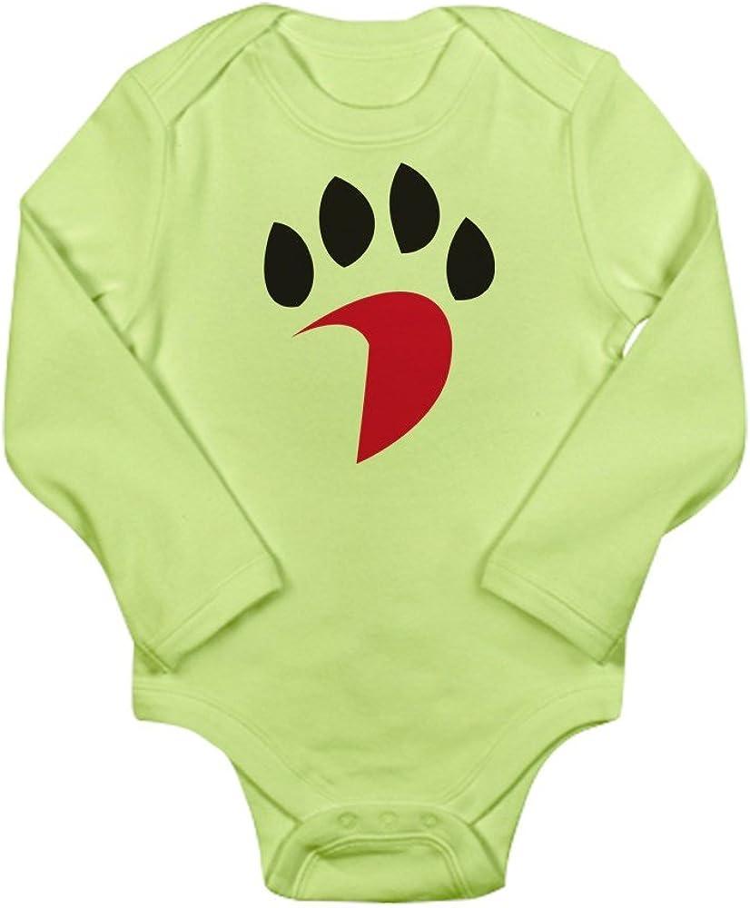 CafePress Davidson Wildcats Pawp Cute Long Sleeve Infant Bodysuit Baby Romper