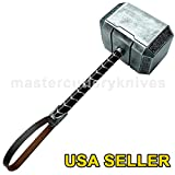Thor Msters 2016 Resin Hammer Full Size Prop Upgraded Version Replica - USA SELLER
