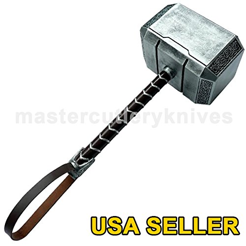 Msters 2016 Resin Thor Hammer Full Size Prop Upgraded Version Replica - USA SELLER (Hammer Replica Thor)