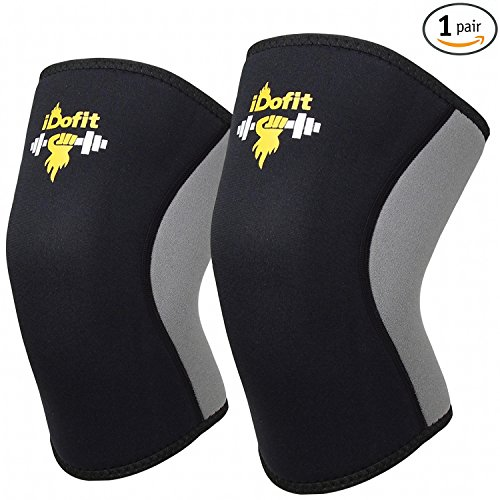 iDofit Sleeves Compression Weightlifting Powerlifting product image