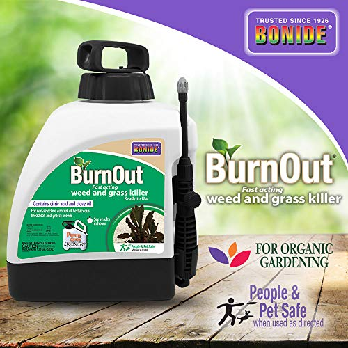 Bonide (BND7495) - Ready-to-Use Burnout, Fast Acting Weed and Grass Killer (1.33 gal.)