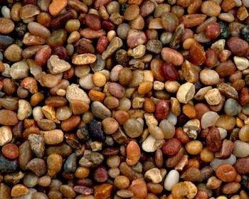 Natural Shallow Creek Pebbles 5/5lb by Clifford W Estes Co., Inc.