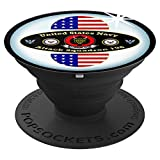 Electronics : NAVY ATTACK SQUADRON VA-196 BADGE IMAGE PopSockets Grip and Stand for Phones and Tablets