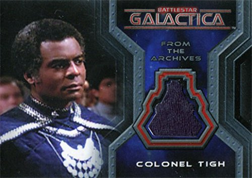 [Battlestar Galactica Colonial Warriors Costume CC10 Terry Carter as Colonel Tigh] (Galactica Costumes)