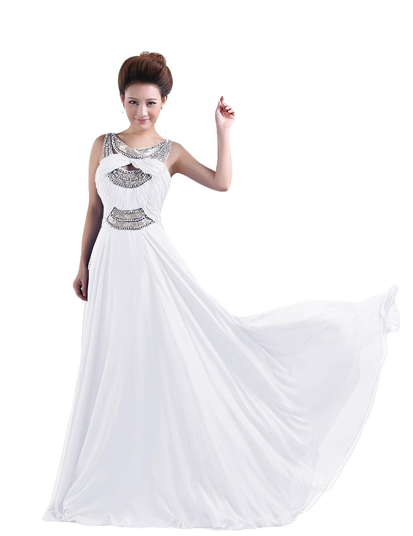 Dressystar Damen lang Cocktailkleid Formale Abendkleider ...