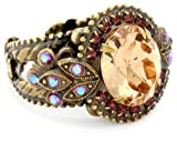Sorrelli-Tapestry-Crystal-Vintage-Inspired-Adjustable-Gold-Tone-Ring