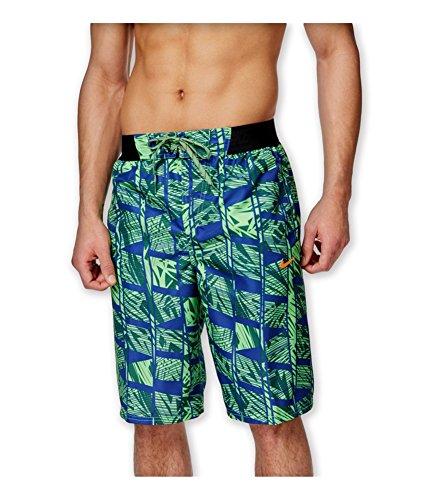NIKE Mens Printed Volley Swim Trunks