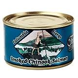 Tony's Columbia Gorge Smoked Chinook Salmon 5.5 oz.