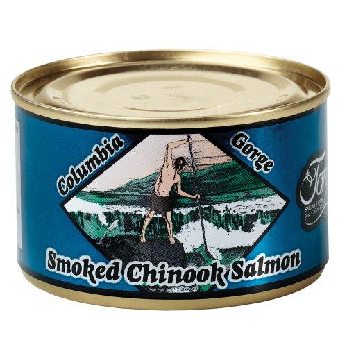 Smoked Salmon Spread - Tony's Columbia Gorge Smoked Chinook Salmon 5.5 oz.