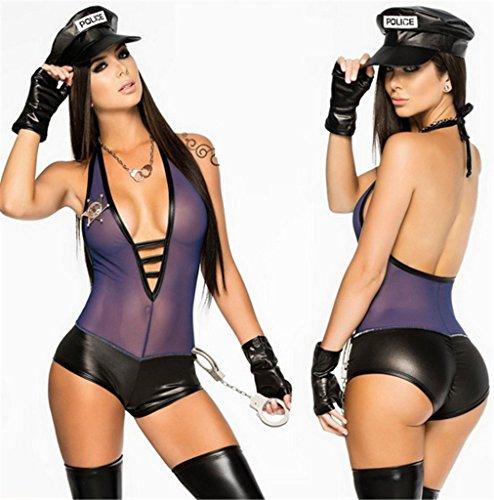 Sexy cop lingerie