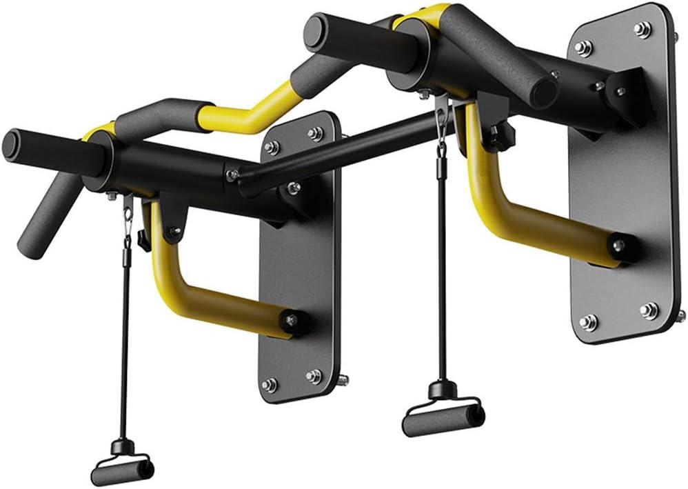 鉄棒 ボクシングバーバー天井がプロの土嚢をぶら下げバーを押し上げるバーを座ってバーを引き上げバーあごを引き上げ (Color : 黄, Size : 90*57*25cm) 黄 90*57*25cm