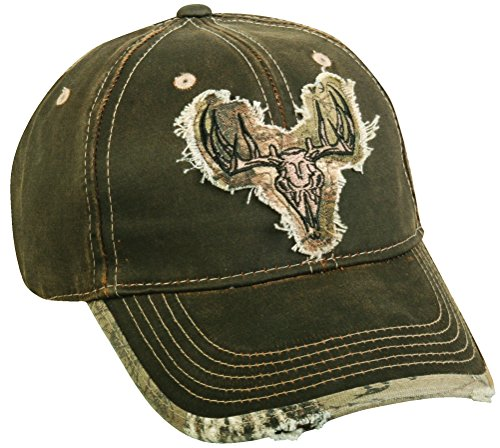 realtree-adjustable-closure-deer-skull-logo-cap-dark-brown-realtree-xtra-camo