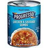 #9: Progresso Soup, Traditional, Chicken & Sausage Gumbo Soup, 18.5 oz