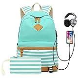 Best Computer Backpacks - Sqoto School Backpack Daypack Shoulder Bag Laptop Bag Review