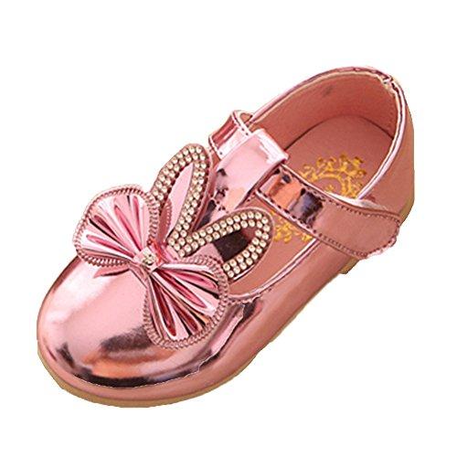 Ohmais Kinder Mädchen flach Freizeit Sandalen Sandaletten Kleinkinder Mädchen Halbschuhe Sandalette Ballerinas blBYZn