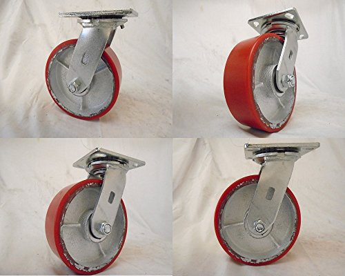 Swivel Caster Steel Wheel - 3