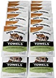 Cat's Tongue Heavy Duty Cleaning Degreaser Wipes / Degreasing Towels - 25-pack Grab-n-go Pouches