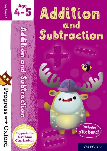 Download Progress with Oxford: Addition and Subtraction Age 4-5 pdf