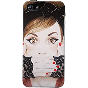 DailyObjects Speak No Evil Case For iPhone 5/5S