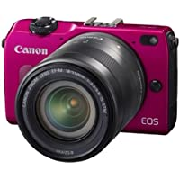 Canon EOS M2 with 18-55mm Lens (Pink) - International Version (No Warranty) Key Pieces Review Image