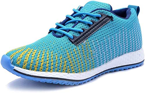 Amazon price history for AADI Men's Blue Mesh Sports Shoes