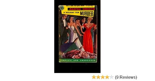 A Holiday For Murder Agatha Christie Amazon Books