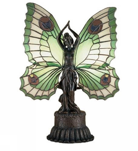 Butterfly Lady Accent Lamp by Meyda Tiffany