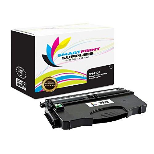 Smart Print Supplies Compatible 12035SA Black Toner Cartridge Replacement for Lexmark E120 Printers (2,000 Pages) - Lexmark 12035sa Compatible Black Laser