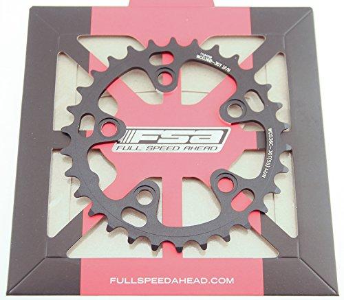 FSA Road 30t Chainring 10 Speed 74 BCD 5 Bolt Alloy MTB Bike 370-0330C NIB