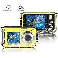 Waterproof Digital Camera FHD 1080P Underwater Camera...