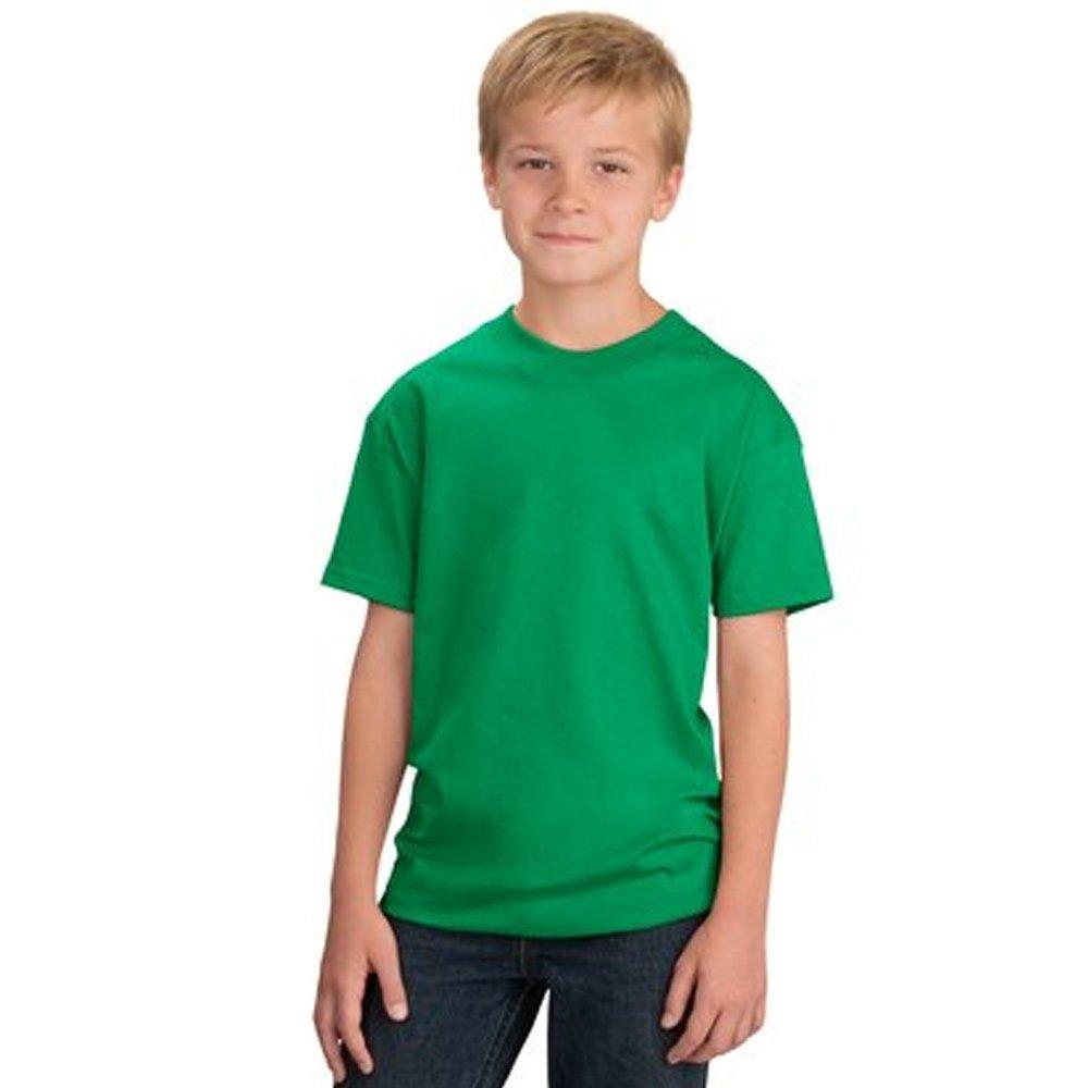 Star and Stripes Kids T Shirt, 100% Organic Cotton Plain Children T Shirt, Plain Kids t Shirts in 15 Colours