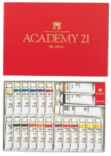 Kusakabe expert for oil paint set 21 color set Academy 21 by Kusakabe