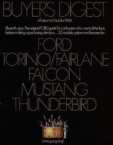 1969   Ford   Thunderbird   Original   Sales   Brochure