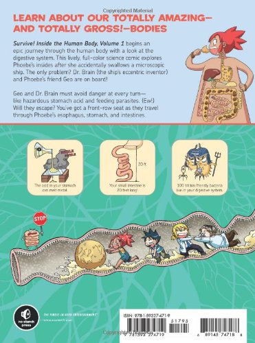 Survive! Inside the Human Body, Vol. 1: The Digestive System by No Starch Press (Image #1)