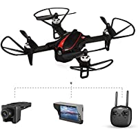 HIOTECH MJX Bug3 B3 Mini Drone with Camera & RX Display Brushless RC Motor Automatic Alarm Quadcopter Toy with Long Flying time & LED Light Assist Night Flight