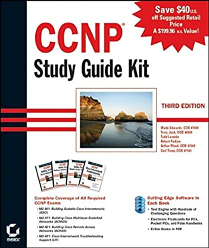 ccnp study guide kit 3rd edition 642 801 642 811 642 821 642 rh amazon com ccnp study guide 2017 ccnp study guide pdf
