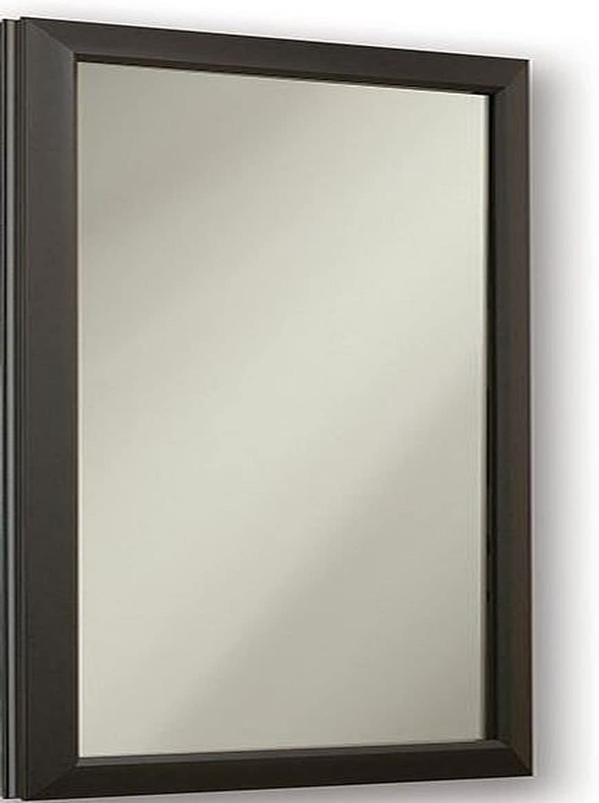 Jensen 625N244BZCLX Locking Bronze Frame Medicine Cabinet, 15.75