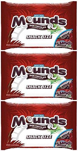 (Mounds Snack Size Bars - 11.3 oz - 3 pk )