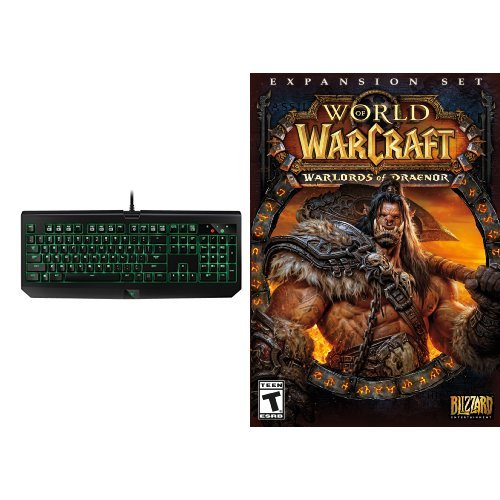 World of Warcraft: Warlords of Draenor Expansion - PC/Mac [Digital Code] and Keyboard Bundle