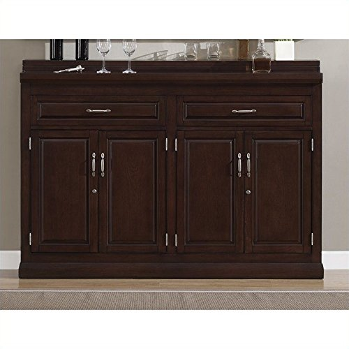 American Heritage 620038NAV Ricardo Slim Line Storage Cabinet with Poplar Wood Construction Locking Cabinets Easy-Glide Drawers and (Heritage 2 Door Cabinet)