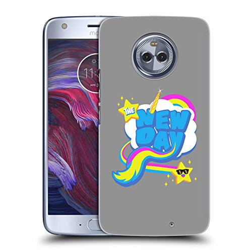 Official WWE Rainbow The New Day Hard Back Case for Motorola Moto - Back Rai Wwe