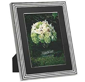 vera wang metalware with love noir picture frame 5x7