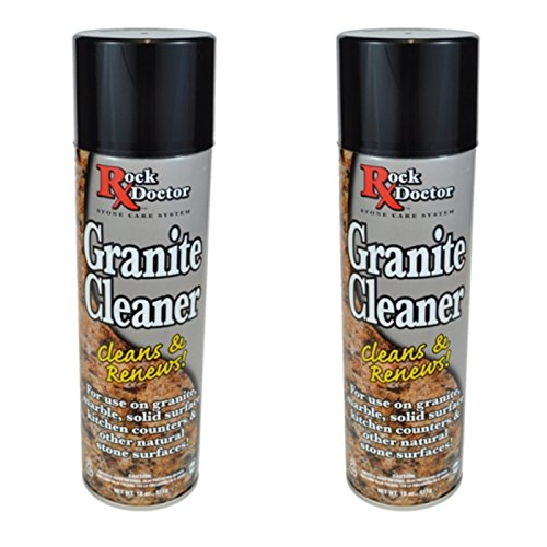 Rock Doctor Granite Cleaner (A Pack of 2 Cans) - 18 Oz.