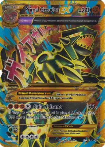 pokemon full arts primal - 5