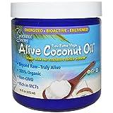 Coconut Secret Alive Coconut Oil - 16 fl oz - Raw Extra Virgin Coconut Oil for Skin, Cooking, High in MCTs - Organic, Vegan, Non-GMO, Gluten-Free, Kosher - 32 Total Servings
